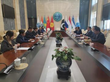 上合秘书处与社环会在京举行工作会议